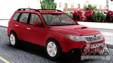 Subaru Forester XT Red для GTA San Andreas