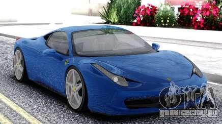 Ferrari 458 Italia Coupe для GTA San Andreas