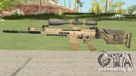 CS-GO Alpha SCAR-20 для GTA San Andreas