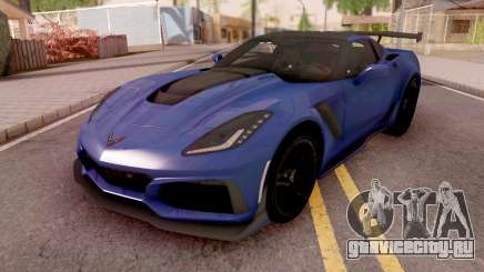 Chevrolet Corvette ZR1 2019 для GTA San Andreas