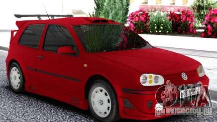 Volkswagen Golf Mk4 1999 Red для GTA San Andreas