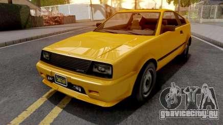 GTA V Dinka Blista Compact для GTA San Andreas