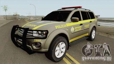 Mitsubishi Pajero Dakar (Brigada Militar) для GTA San Andreas