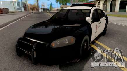 Chevrolet Impala 2007 LSPD Lowpoly для GTA San Andreas