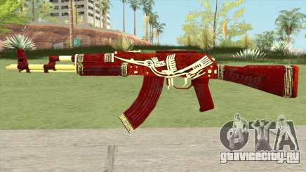 Warface AK-103 (Lake Bird) для GTA San Andreas