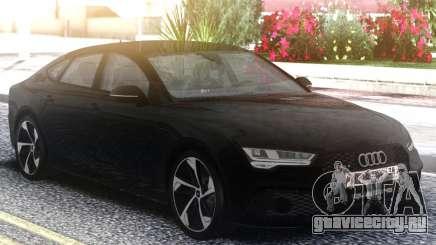 Audi RS7 Restyling Black для GTA San Andreas