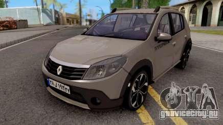 Renault Sandero StepWay v2 для GTA San Andreas