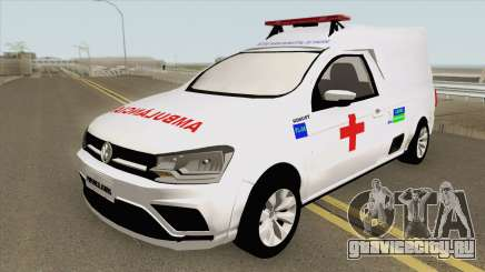 Volkswagen Saveiro G7 Robust RESGATE MG для GTA San Andreas