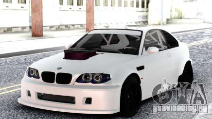 BMW M3 E92 DRIFT White для GTA San Andreas