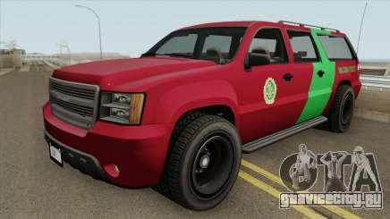 Declasse Granger 3500LX GTA V (Area 69 Brigade) для GTA San Andreas