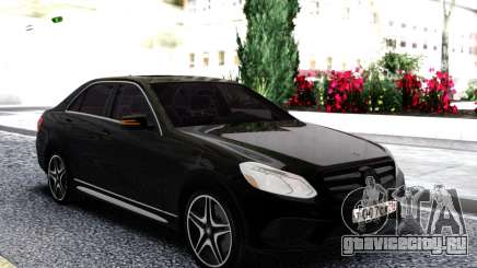 Mercedes-Benz W212 Black Sedan для GTA San Andreas
