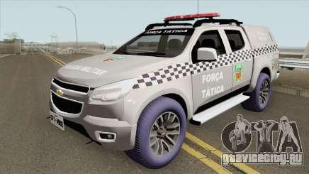 Chevrolet S-10 2015 (Forca Tatica Nova Potagem) для GTA San Andreas