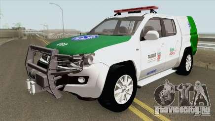 Volkswagen Amarok TDI (SIATE MEDICO) для GTA San Andreas
