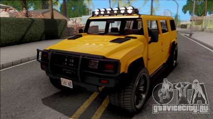 GTA V Mammoth Patriot v2 для GTA San Andreas