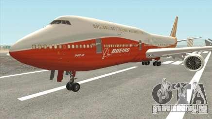 Boeing 747-8i (Boeing House Sunrise) для GTA San Andreas