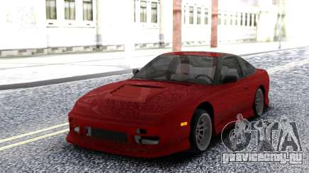 Nissan 240SX Red Coupe для GTA San Andreas