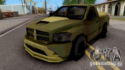Dodge RAM SRT-10 Lowpoly для GTA San Andreas