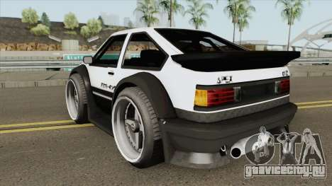 Apex GT85 для GTA San Andreas