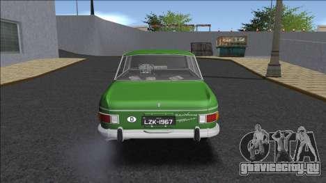 DKW-Vemag Fissore S 1967 для GTA San Andreas