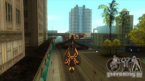 Spider Man Mod для GTA San Andreas