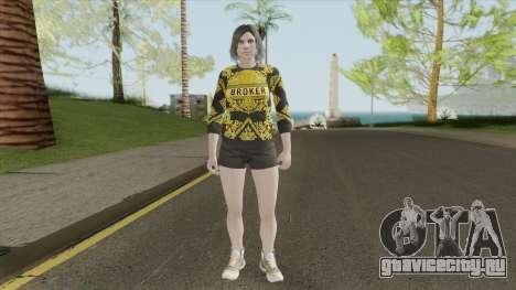Female Skin (The Diamond Casino And Resort) для GTA San Andreas