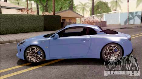 Alpine A110 2017 для GTA San Andreas