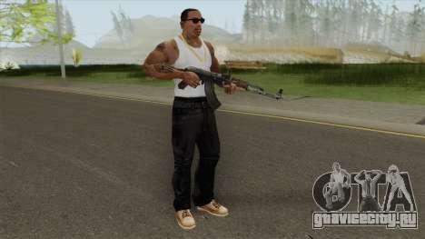 COD: MW1 AK-47 (Default) для GTA San Andreas