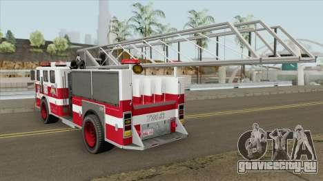 Firetruck Ladder GTA IV для GTA San Andreas