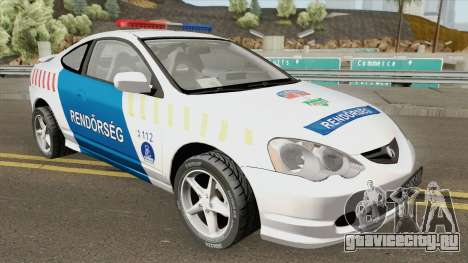 Acura RSX Magyar Rendorseg для GTA San Andreas