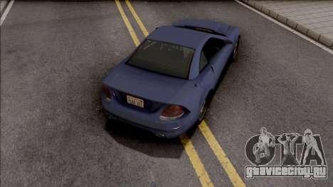 GTA IV Benefactor Feltzer SA Style для GTA San Andreas