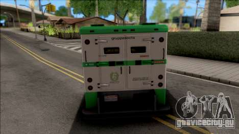 GTA V Brute Stockade для GTA San Andreas