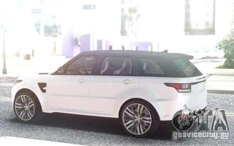Range Rover SVR для GTA San Andreas