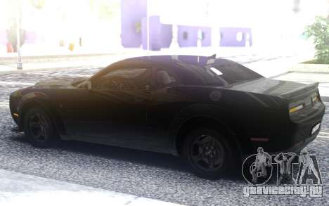 Dodge Challenger SRT Demon для GTA San Andreas