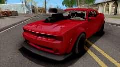 GTA V Bravado Gauntlet Hellfire Custom для GTA San Andreas