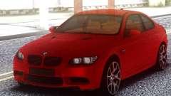 BMW M3 E92 Red Original для GTA San Andreas