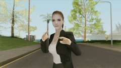 Emma Watson (Business Suit) V2 для GTA San Andreas