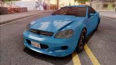 GTA IV Benefactor Feltzer VehFuncs Style для GTA San Andreas