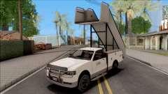 GTA V Contender Airport Stairs для GTA San Andreas