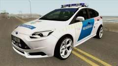 Ford Focus RS Magyar Rendorseg для GTA San Andreas