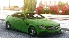 Mercedes-Benz W205 Coupe Brabus 650 для GTA San Andreas