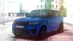 Range Rover Sport SVR Blue для GTA San Andreas