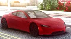 Tesla Motors Roadster 2020 Red для GTA San Andreas