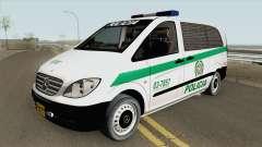 Mercedes-Benz Vito (Patrullas Colombianas) для GTA San Andreas