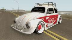 Volkswagen Fusca Coca-Cola Edition для GTA San Andreas
