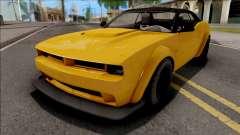 GTA V Bravado Gauntlet Hellfire Stock IVF для GTA San Andreas