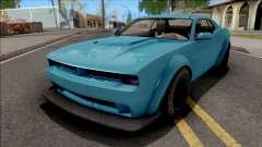 GTA V Bravado Gauntlet Hellfire Stock для GTA San Andreas