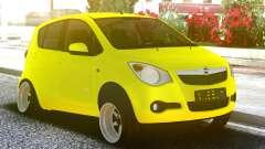 OPEL Agila Yellow для GTA San Andreas