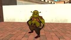 Fat Shrek Funny для GTA San Andreas