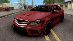 Mercedes-Benz C63 AMG 2014 для GTA San Andreas