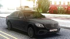 Mercedes-Benz S63 AMG W222 Black для GTA San Andreas